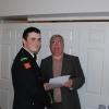 Director of Services Kieran Kehoe, CDO Liam Preston & Vol Cailean O'Keeffe