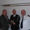 Director of Services Kieran Kehoe, CDO Liam Preston & First Officer Marcel Steenkist