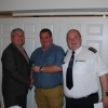 Director of Services Kieran Kehoe, CDO Liam Preston & Vol Shay Preston