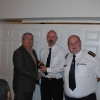 Director of Services Kieran Kehoe, CDO Liam Preston & Second Officer Colin Mead