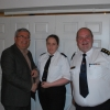 Director of Services Kieran Kehoe, CDO Liam Preston & Third Officer Nicola Kelly