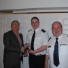 Director of Services Kieran Kehoe, CDO Liam Preston & Team Leader Mark Farrell