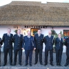 Members of Mountmellick, Stradbally & Durrow units who received promotions on the night